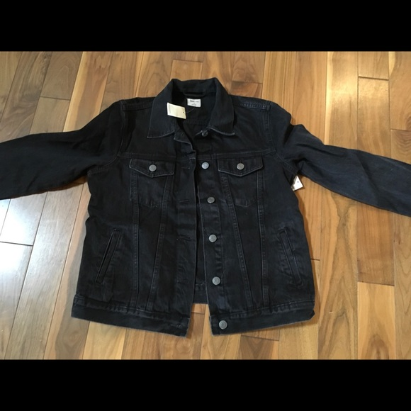 watch best online presenting GAP Jackets & Coats | Denim Jacket Black | Poshmark